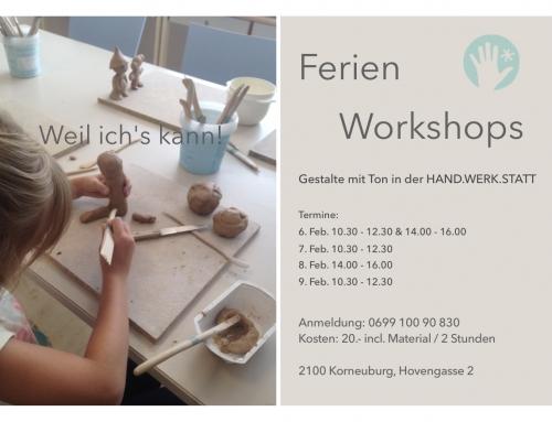 Ferien Workshops